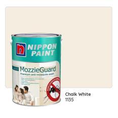 Nippon Paint Mozzieguard 1135 (Chalk White) 1L