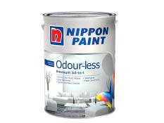 Nippon Paint Odour-less All-in-1 - Base 3 - Gray Mood 1186 - 1L