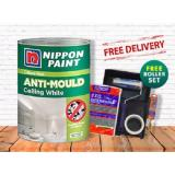 Price Nippon Paint Odour Less Anti Mould Ceiling White 5L Nippon Paint New