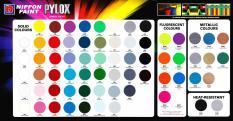 Nippon Paint Pylox Spray Paint Flourecent Green 605