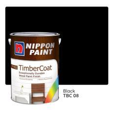 Nippon Paint TimberCoat TBC 08 (Black) 1L