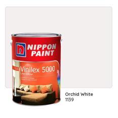 Nippon Paint Vinilex 5000 1139 (Orchid White) 5L