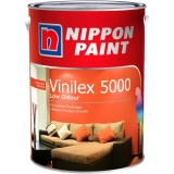 Price Nippon Paint Vinilex 5000 5Lt Smooth Matt Low Odor Whisper Grey Singapore