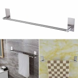 Who Sells No Drill Sticky Stainless Steel Single Towel Bar Rack Holder Wall Door Mounted Intl