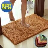 Price Non Slip Absorbent Microfiber Soft Carpet Mat Rugs For Bathroom Living Room Bedroom Red 40X120Cm Intl Oem Original