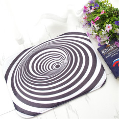 Non Slip Kitchen Mat Doormat Bath Mat Entrance Rug Runner15X23 Inch Black And White Circle Shop