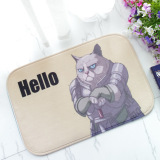 Buy Cheap Non Slip Soft Foam Hello Cat Bath Toilet Rug Bathroom Carpet Floor Mat Intl
