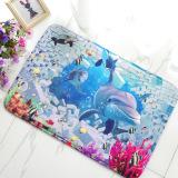 Store Non Slip Soft Foam Sea World Jellyfish Bath Toilet Rug Bathroom Carpet Floor Mat Intl Oem On China