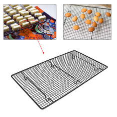 Price Comparisons Non Stick Sturdy Large Wire Cooling Tray Cakes Cookies Baking Cooling Wire Rack Intl