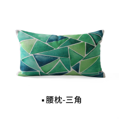 Price Nordic Simple Cotton Linen Pillow Cover Car Cushion Lumbar Pillow Oem China