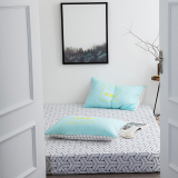 Get Cheap Indie Cotton Single Double Bed Li Cotton Bedsheet