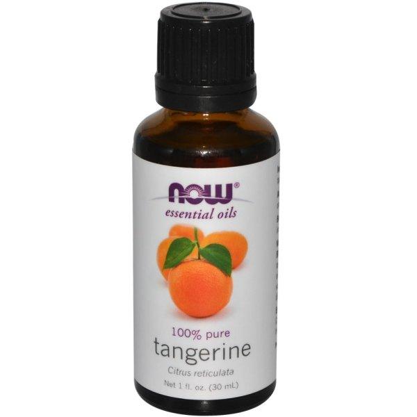 Now Foods Essential Oils 100% Pure Tangerine oil, 1 fl oz (30 ml)