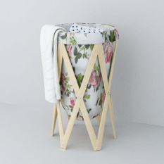 Ocean Laundry Baskets Creative Pastoral Cloth Art Receive Basket High Quality Large Folding Storage Basket Dirty Clothes Basket - Intl By Ocean Shopping Mall.