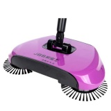 Price Ocean New Household Clean Fully Automatic Hand Push Sweeping Machine Magic Broom Dustpan Combination Suit Purple Intl China