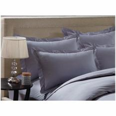 Oculus Living Royal Hotel Collection Sateen Plain Series Misty Grey Pillow Case Promo Code
