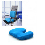 Price Comparisons For Office Chair Orthopedic Seat Cushion Release Pillow Memory Foam Back Ache Pain New Intl