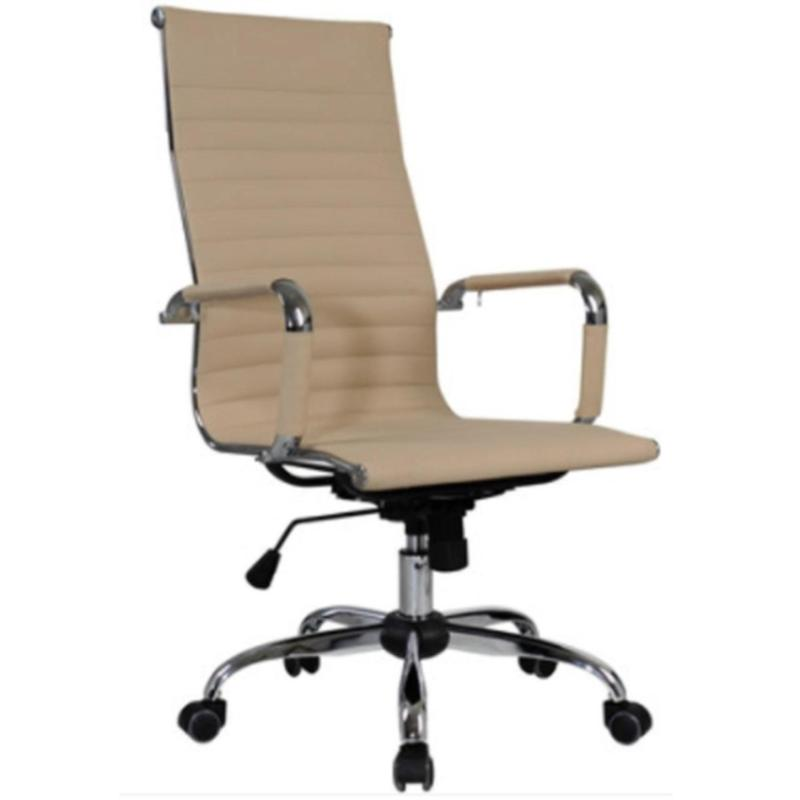 Office Manager Chair ( LEATHER ) (Free Installation + 1 Year Warranty) (Home Office Chair) Singapore