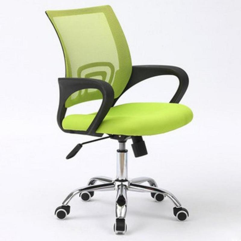 Office Chair Typist Chair ( BLACK FRAME MOBILE ) (Free Assembly + 1 Year Warranty) (Home Office Chair) Singapore