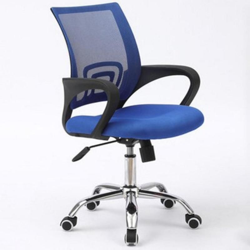 Office Chair Typist Chair ( BLACK FRAME MOBILE ) (Home Office Chair) Singapore