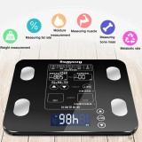 Sale Oh 180Kg Electronic Scales Measure Weight Fat Calories Lcd Screen Digital Display Black Intl Online On China