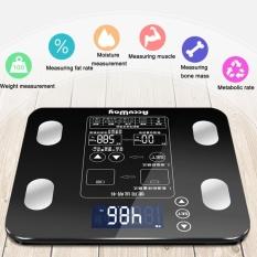 List Price Oh 180Kg Electronic Scales Measure Weight Fat Calories Lcd Screen Digital Display Black Intl Oem