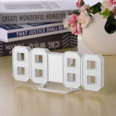 Compare Oh 8 Shaped Large Modern Design Digital Led Display Wall Desktop Table Clocks White Intl Prices
