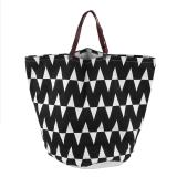 Buy Oh Dirty Clothing Clothes Laundry Basket Can Stand Canvas Storage Bag Organizer Geometric Combination Intl Oem