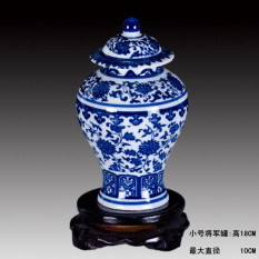List Price Retro Blue And White Porcelian General Vase Oem