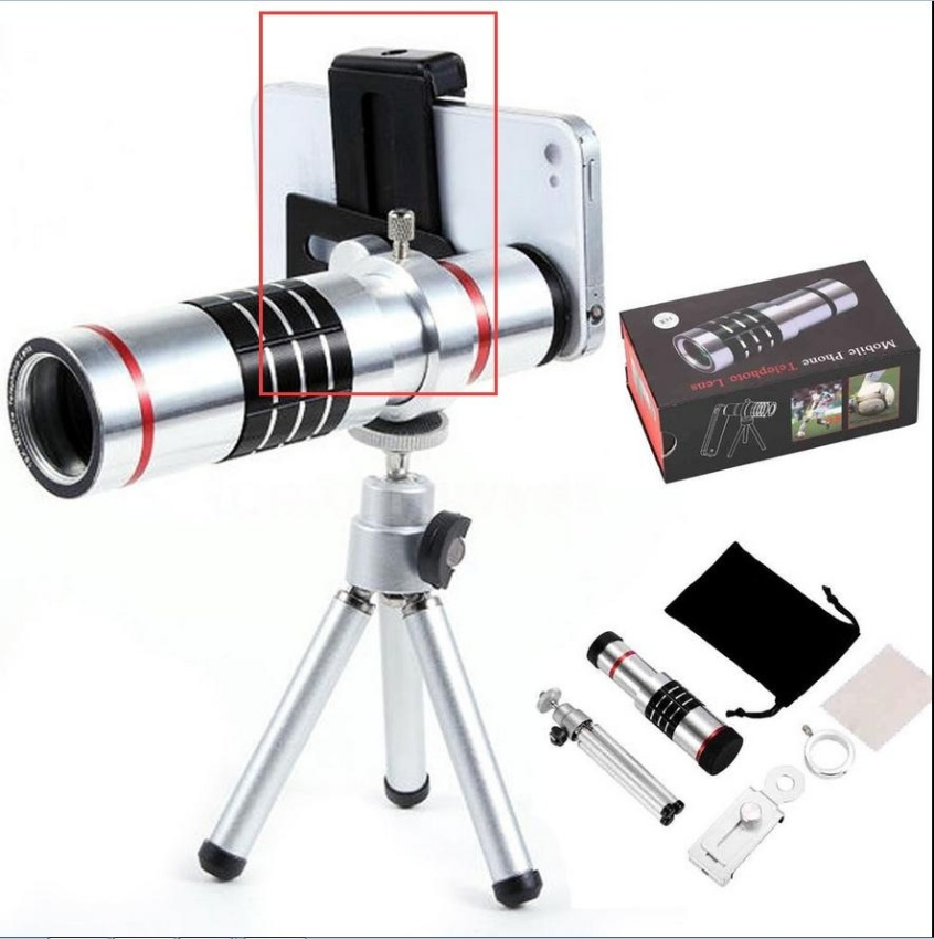 Buy Optical 18X Zoom Phone Telescope Telephoto Camera Lens Tripod For Iphone Android Intl Not Specified Online