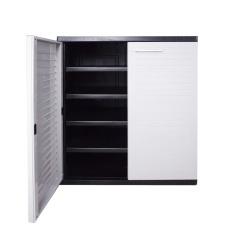 Optimus Low Cabinet Grey In Stock