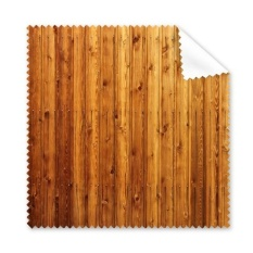 Orange Wood Floor Wallpaper Texture Glasses Cloth Cleaning Cloth Gift Phone Screen Cleaner 5pcs - intl