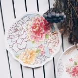 Purchase Oriental Floral 8 Salad Plate Online