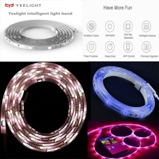 Price Comparison For Original Yeelight Rgb Intelligent Light Band Smart Home Phone App Wifi Light Strip Colorful Lamb Led 2M 16 Million 60 Led Intl