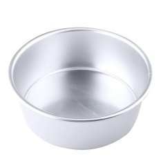 Oscar Store Practical High-quality Hot Sell 5 Aluminum Alloy Non-stick Round Cake Baking Mould Pan Tin Mold Tray Tool - intl