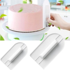 Oscar Store Practical High-quality Hot Sell DIY Baking Tools Cake Surface Smoothing Device / Wiping Plate / Turn Sugar Cake Tools - intl