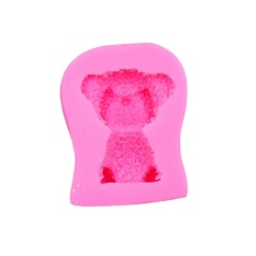 Oscar Store Practical High-quality Hot Sell Pink Bear DIY Craft Baking Mold Decorating Tool For Fondant Cake Chocolate Clay - intl