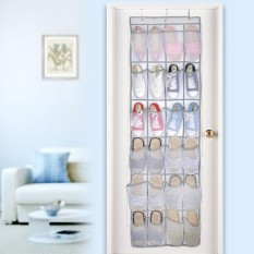 Sale Osman 24 Large Mesh Pockets Non Woven Hanging Storage Bag Behind Doors Space Saving Shoes Rack Household Accessories Online China