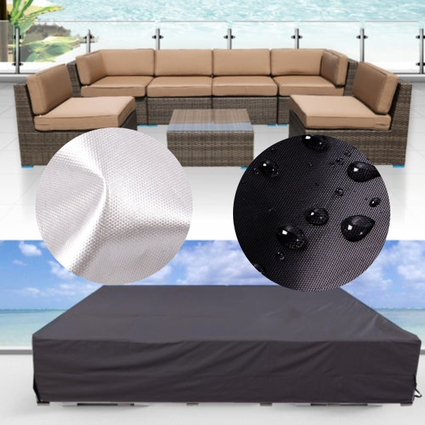 Outdoor Furniture Cover Water Resistant Patio Garden Wicker Sofa Couch Cover - intl