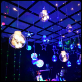 Best Outdoor Ktv Bar Fairy Decorative Light 12 Strings 120 Beads Wishing Lamp Ceiling Light For Wedding Birthday Home Window 220V 110V Intl