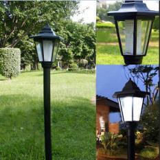 Outdoor Solar Power LED Path Way Wall Landscape Mount Garden Lamp Light - intl