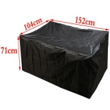 Retail Outdoor Waterproof Furniture Protector Table Set Chair Sofa Cover Tighten Garden 152 104 71Cm