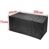 Price Outdoor Waterproof Furniture Protector Table Set Chair Sofa Cover Tighten Garden 205 104 71Cm Not Specified Original