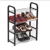 Price Outlet Home Assemble Shoe Rack Storage Blue Intl Oem Original