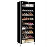 Outlet Korean Multi Function Storage Shoe Cabinet Black Intl Lowest Price