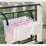 Retail Price Outlet Multifunctional Airing Hanger Shoe Rack White Intl