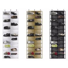 Buy Over The Door Hanging Shoe Organiser Purple Cheap Singapore