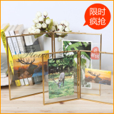 Sale Creative Retro Glass Photo Frame Oem Cheap