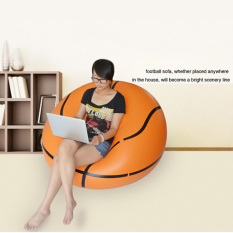 PAlight Inflatable Lazy Sofa Bean Bag Chairs Bedroom Furniture (Basketball) - intl