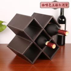 Best Price Modern Minimalist Ornaments Wood Home Cabinet Wine Rack
