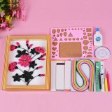 Paper Diy Set Quilling Tools Template Mould Board Tweezer Pins Slotted Tool Kit Intl Lowest Price